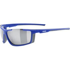 UVEX Sportstyle 310 Glasses blue matt/mirror silver